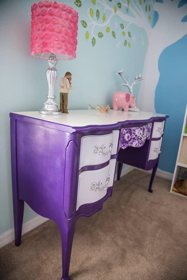 As 25 Melhores Ideias De Purple Princess Room No Pinterest Quartos De Crian A Roxos Decora O