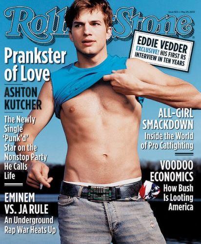 Consider Ashton Kutcher covered.