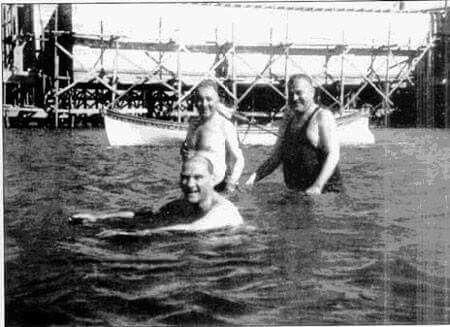 Atatürk, Kılıç Ali, Salih Bozok. ⚓