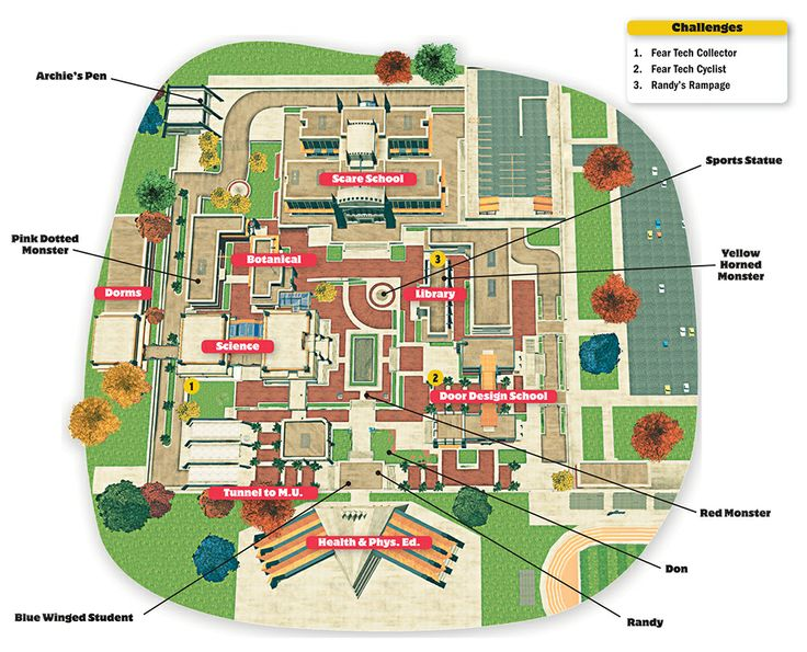 northeastern university campus map » Path Decorations Pictures ...