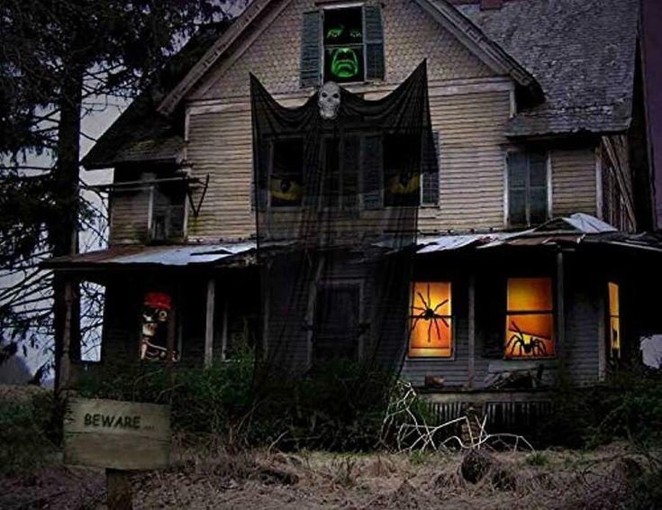 13.94ft Halloween Ghost Hanging Decorations Scary Creepy ...