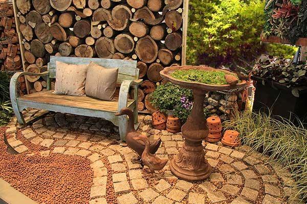 Идея уютной зоны отдыха на даче