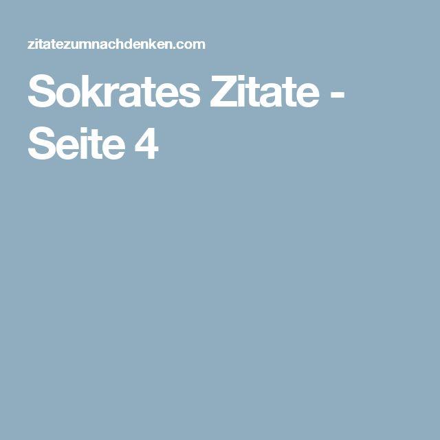 Sokrates Zitate - Seite 4
