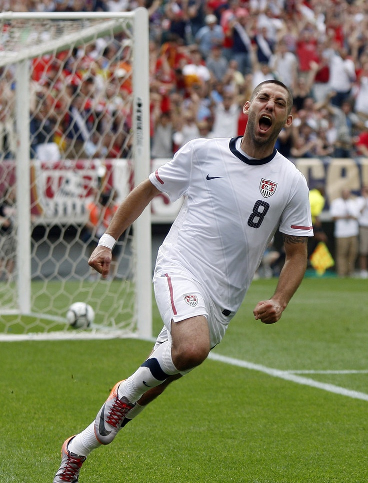 Clint Dempsey.  Deuce! Going to look great in that Tottenham jersey. Just need to do something about AVB...