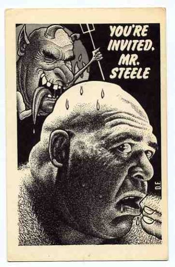 Drew Friedman :: George Steele