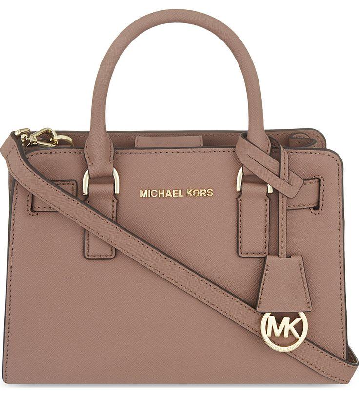 MICHAEL MICHAEL KORS - Dillon small leather satchel | Selfridges.com