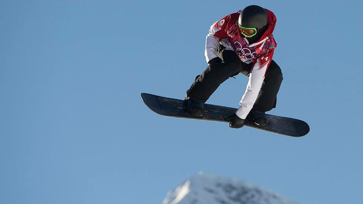 Mark McMorris wins Canada's first medal at #Sochi2014. Bronze