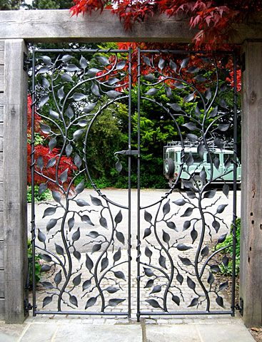 Small Metal Garden Gate | Ornamental Garden Gates AndRailings   Sculptural  Gates