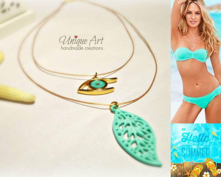 We love summer.. we love colours! New #summer double #necklace!  https://www.facebook.com/media/set/?set=a.377553319107146.1073741843.352268808302264&type=3