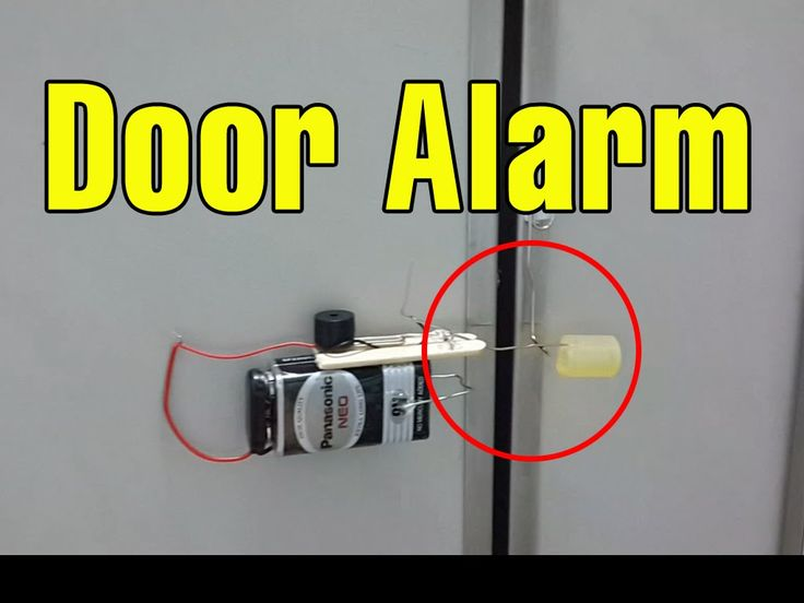 Make a Cool Door Alarm Anti Theft at home - Cool things to make at ...