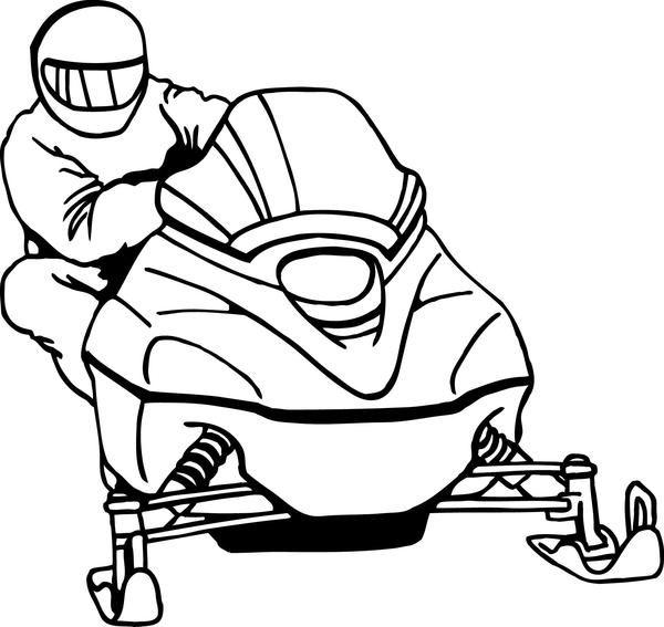 Snowmobile Clipart Snwmbl3 Jpg 600 567 Clip Art Art Free Vector Art