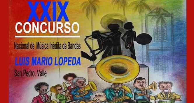 Concurso Nacional de Música Inédita de Bandas 2017 en San Pedro, Valle del Cauca