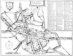 Old Coventry map