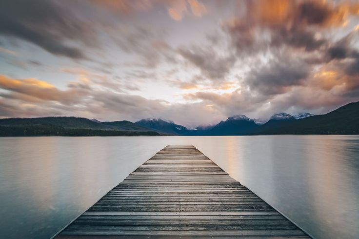 Sunrise over lake McDonald by A Frenchman In NY on 500px