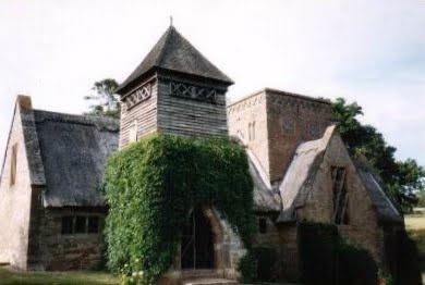 All Saints' Church, Brockhampton, Hereford. W.R.Lethaby