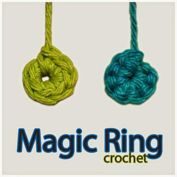 Easy Homesteading: Crochet: Magic Adjustable Ring DIY