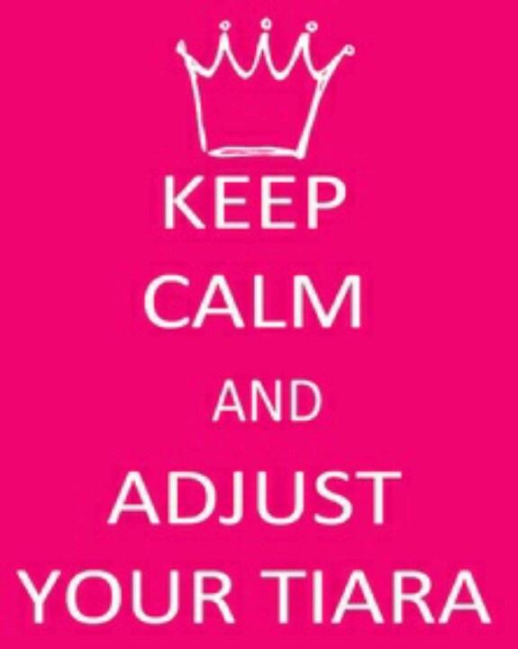 #KeepCalm #Tiara