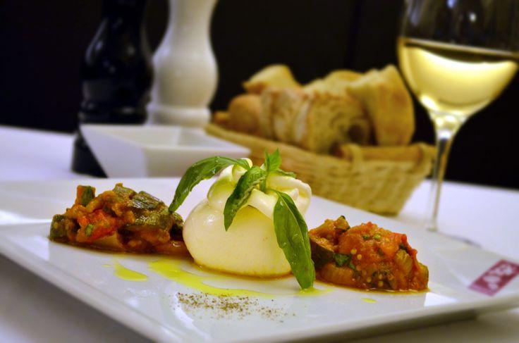 Restaurant Bresto - new menu 2017 - BURRATINA
