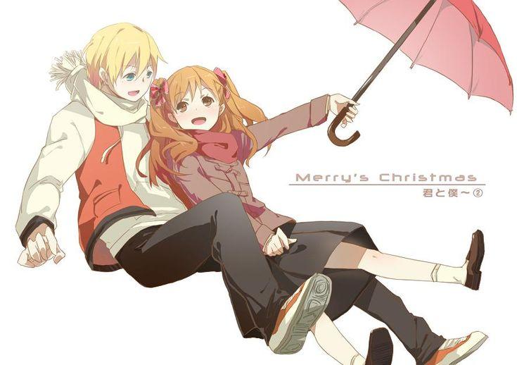 Chizuru and Masaki (Mary) from Kimin to Boku