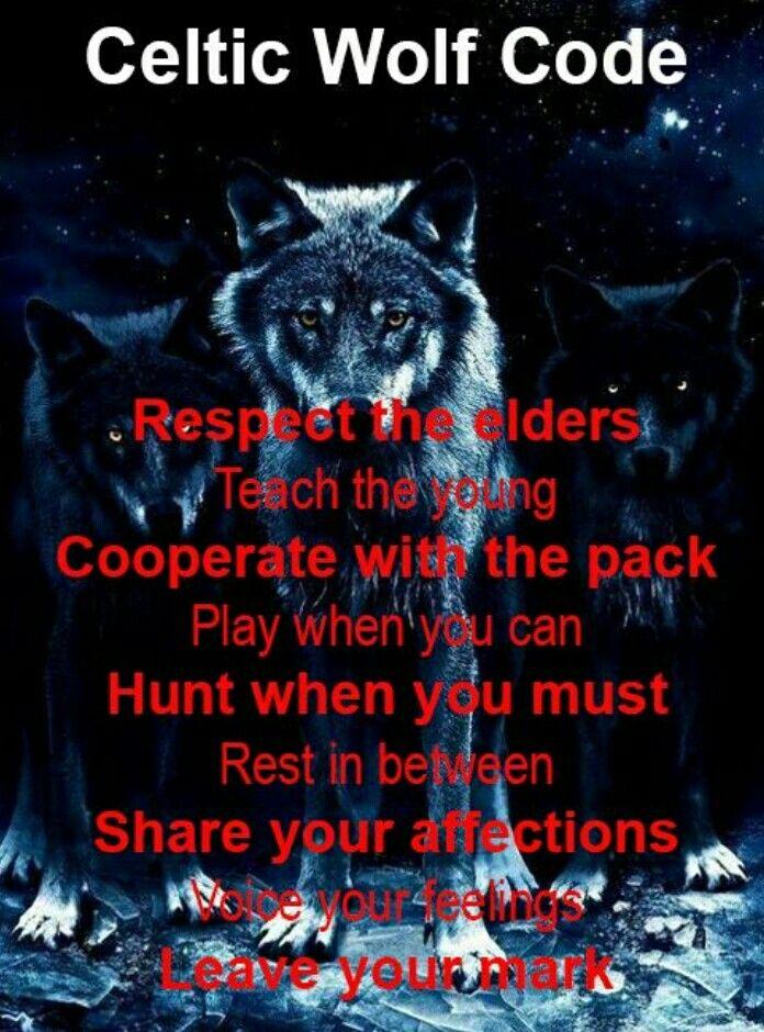 Nov: celtic Calendar Wolf