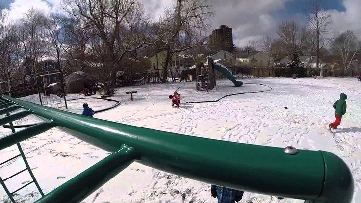 Let it snow! (on the Grammar back field)