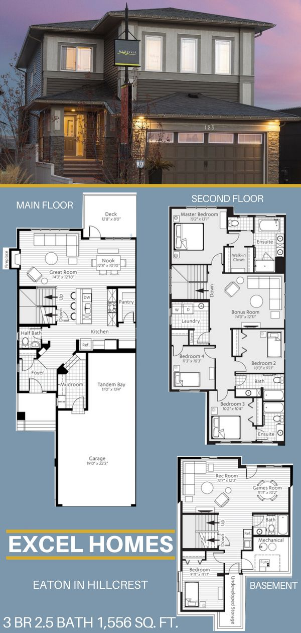 2 Story House Plans With Basement Basement House Plans Basement Floor Plans House Layouts