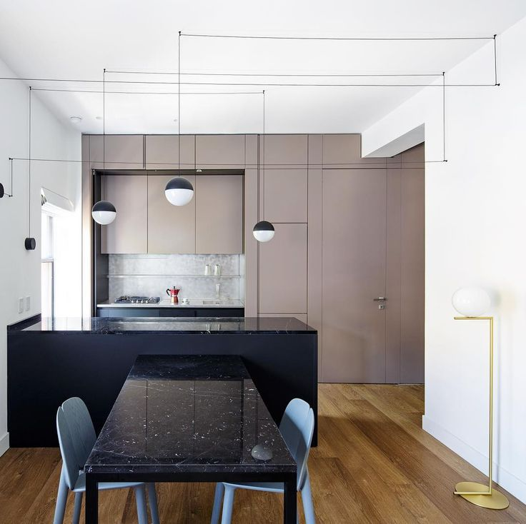 archiproducts linear kitchen with peninsula based on the t45 - Kitchen Wall Units Designs