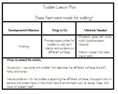 95 best Toddler Curriculum images on Pinterest Lesson plans for - sample preschool lesson plan