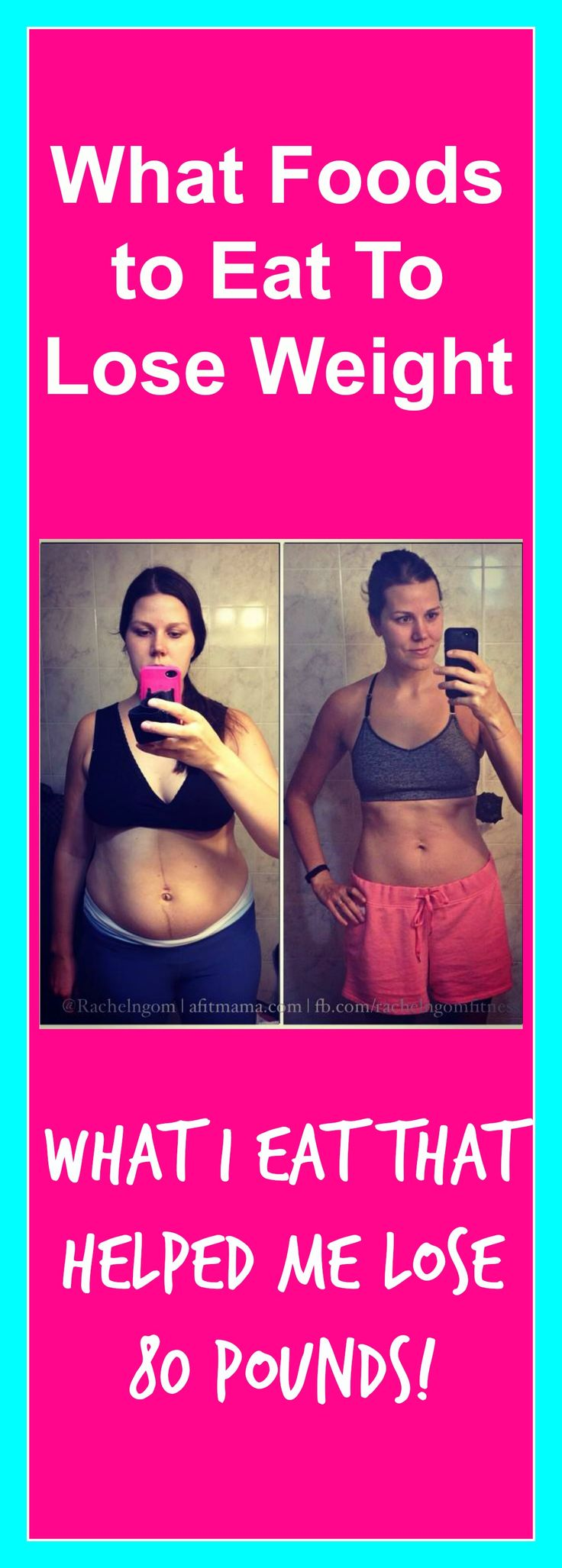 What foods to eat to lose weight! I've lost 80 pounds and this is what I eat!