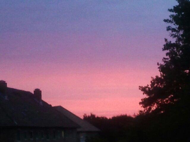 Sunset in Denmark Lyngby
