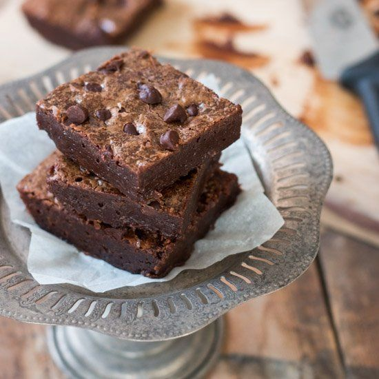 The ultimate rich and fudgy brownies.