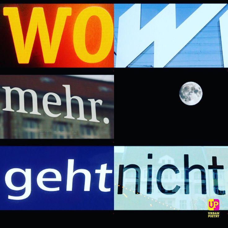 W O W #supermoon #fullmoon #vollmond #germany #urbanpoetry #berlin #wien #zürich #münchen #frankfurt #hamburg #köln #stuttgart