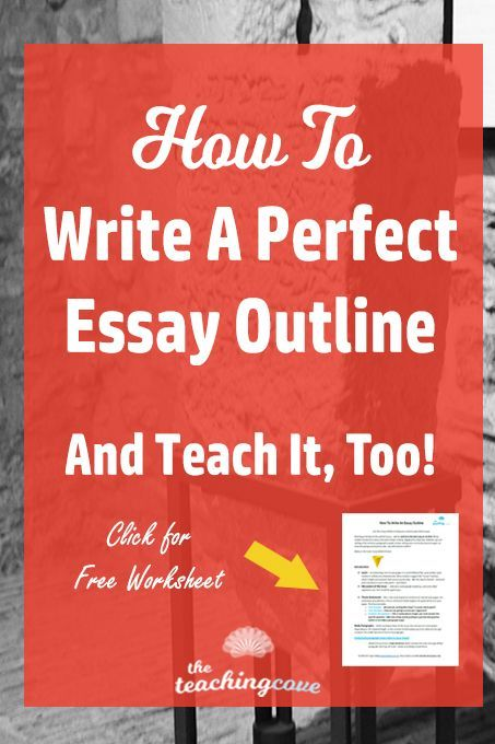 Proposal Essay Topic List How To Write An Essay Outline  Teach It Too Healthy Lifestyle Essay also Narrative Essay Examples High School Best  Outline Essay Ideas On Pinterest  Essay Plan Essay On  Business Essay Format
