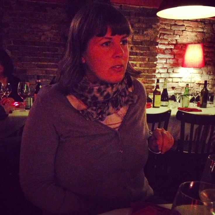 Yvette - dinner at Officina