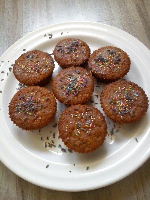 Levandulove muffiny