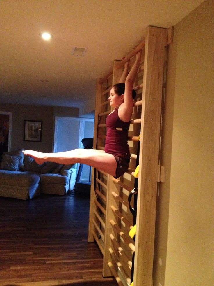 Idea How To Train Human Flag In An Apartment Without A