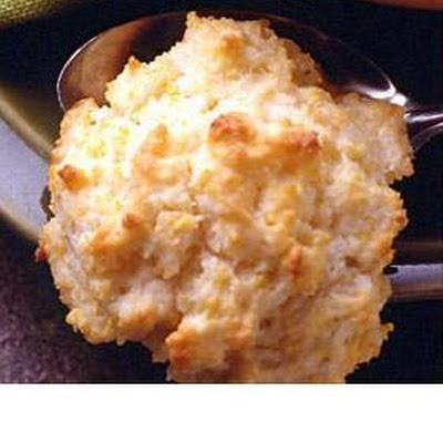 Blue Cornmeal Biscuits Recipe — Dishmaps