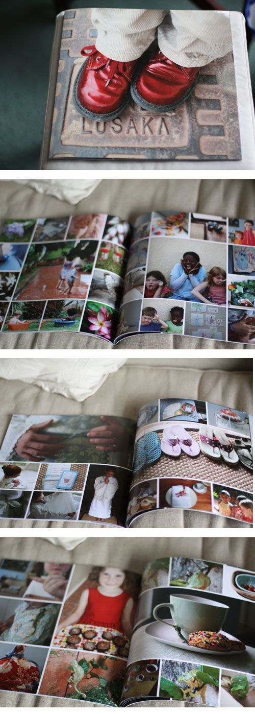 Photobook lay-out