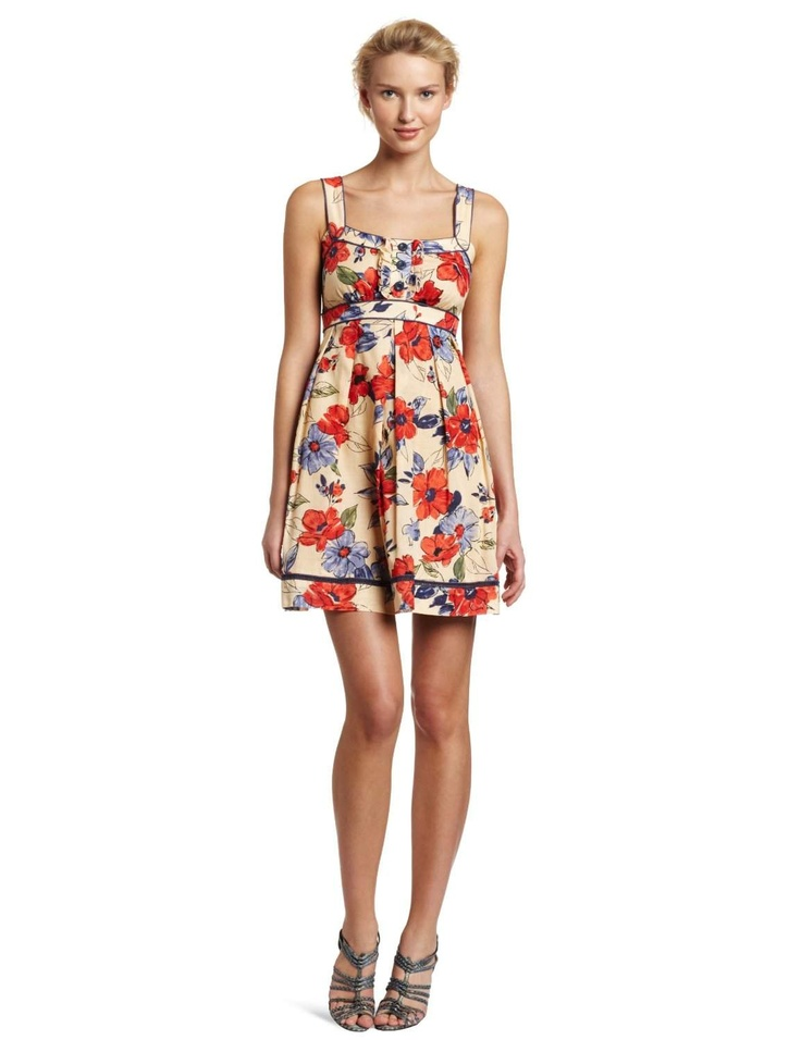 Jessica Simpson Women's Ruffle Front Tank Dress http://click-this-info.tk/SimpsonWomen