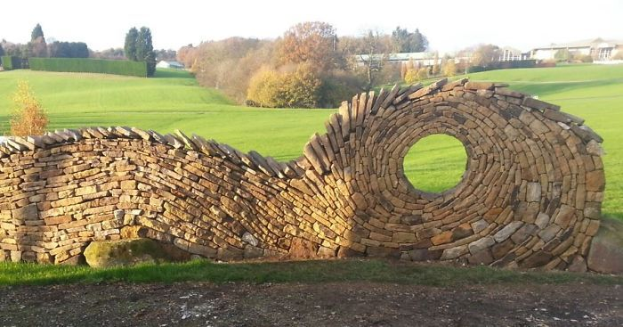 Johnny Clasper from Yorkshire, UK went from being a bricklayer to an established stonemason by rejecting the idea of a single path. He turns stones and rocks into anything ranging from patios to innovative sculptures and captivating mosaics.