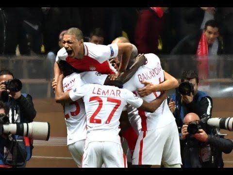 ملخص كامل لمبارة موناكو {3- 1}  مانشستر سيتي دوري أبطال أروبا  15-03- 2017