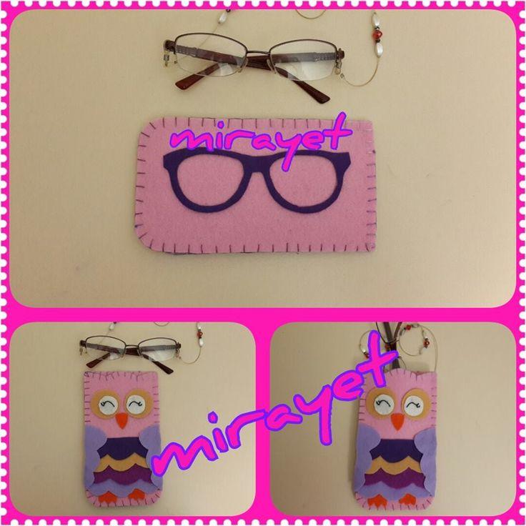 keçe gözlük kılıfı