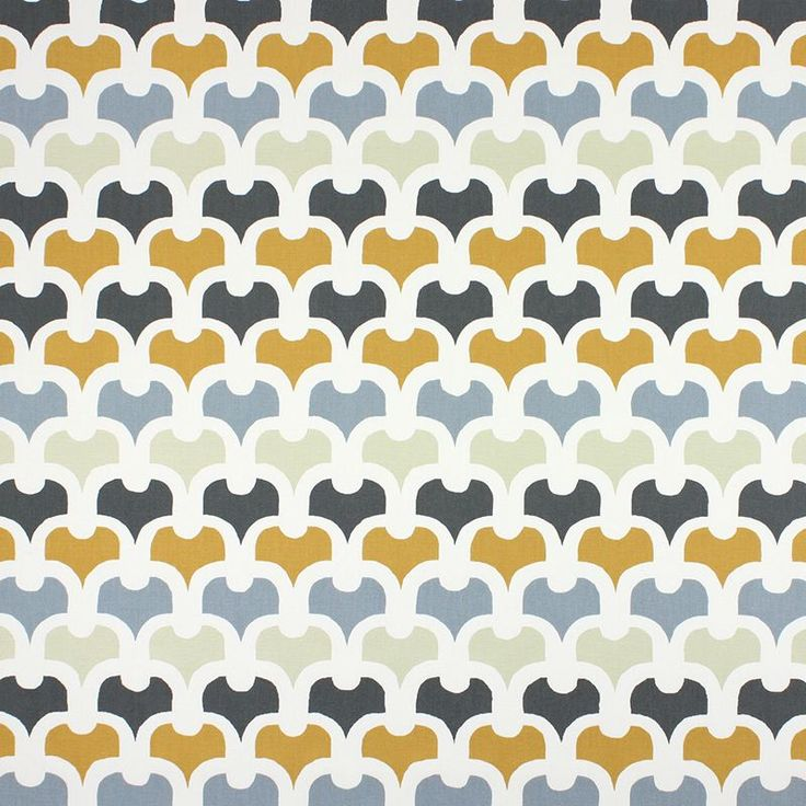 Warwick Fabrics : PEMBURY, Colour SAFFRON