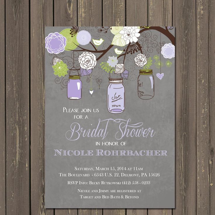 Best 25+ Mason jar invitations ideas on Pinterest   Rustic wedding ...