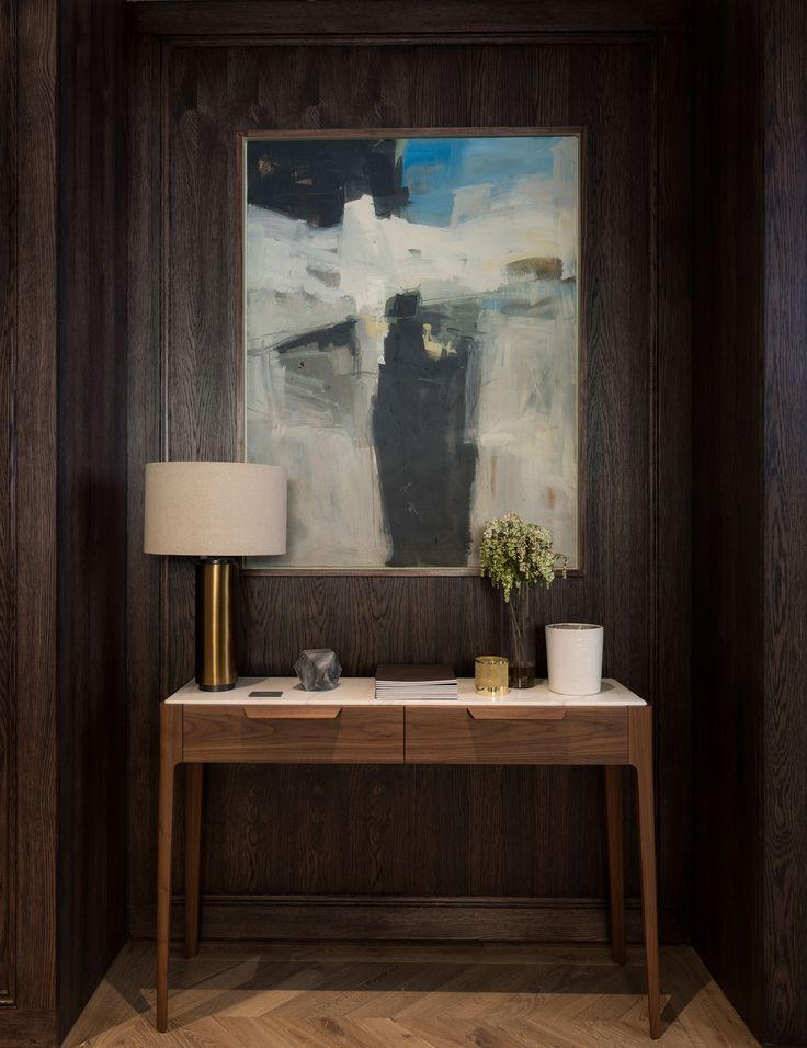 Aldworth James U0026 Bond | Parkgate House, Battersea   Hallway Panelling