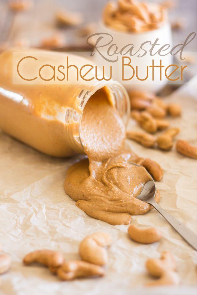 simple raw cashew butter recipe