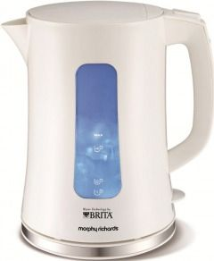 Morphy Richards 43965 Brita Accents White Water Filter Kettle