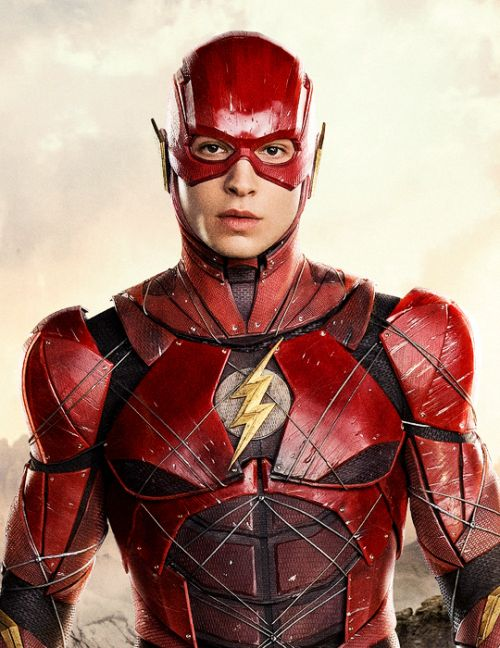 Ezra Miller as Barry Allen/The Flash in Justice League (2017)