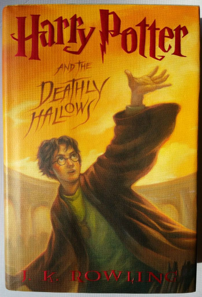 Harry Potter And The Deathly Hollows Jk Rowling Hardcover Book First Edition Harrypotterbook Potterhead