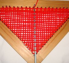 Continuous Weaving On a Tri Loom